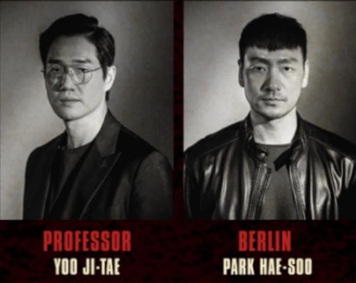 Untuk yang pertama ada dari kelompok The Gang, dimana Yoo Ji Tae akan berperan sebagai The Professor dan Park Hae-Soo akan berperan sebagai Berlin (foto: twitter.com/@NetflixID)