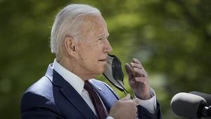 Biden Telepon Mahmud Abbas Bicarakan Konflik Israel-Palestina