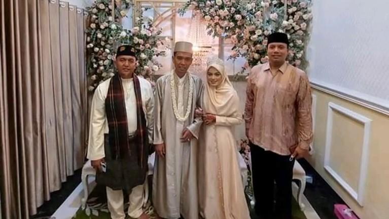 Ustaz Abdul Somad menikah