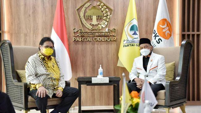 Golkar adalah partai politik kelima yang ditemui PKS selama ramadan, setelah PPP, Demokrat, PDIP, dan PKB.