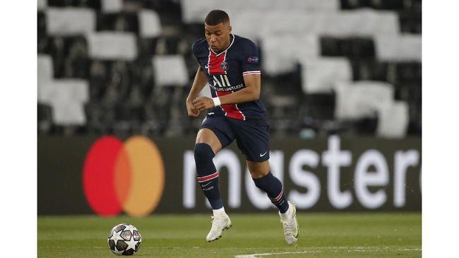 Penyerang Kylian Mbappe diklaim tidak akan tampil sebagai starter pada laga Manchester City vs Paris Saint-Germain di Liga Champions.