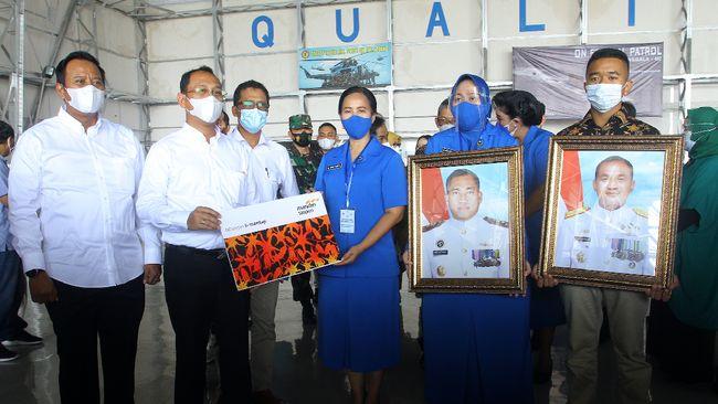 Bank Mandiri Taspen (Bank Mantap) ditunjuk PT Asabri (Persero) sebagai mitra untuk menyalurkan santunan kepada keluarga korban kru KRI Nanggala 402.