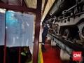 FOTO: Menengok Perawatan Lokomotif di Depo KA Cipinang