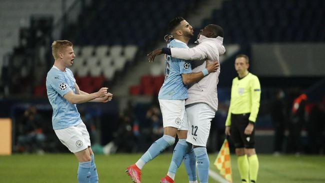 Hasil Semifinal Liga Champions: Man City Kalahkan PSG