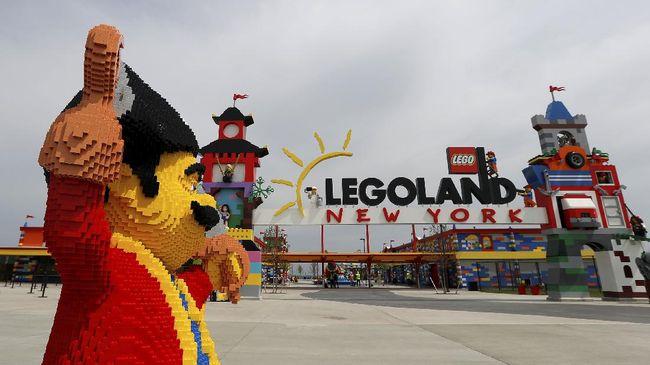 Taman hiburan tersebut akan mencakup 15 ribu model Lego yang dibuat dengan 30 juta balok Lego.