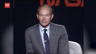VIDEO: Mantan Astronaut Apollo 11 Michael Collins Wafat