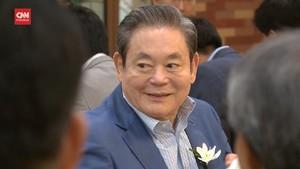 VIDEO: Keluarga Bos Samsung Bayar Pajak Warisan Rp156 T