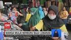 VIDEO: Warga Mulai Berburu Baju Lebaran
