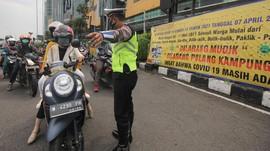 Jalur Mudik Resmi Disekat Polisi 6 Mei Pukul 00.00 WIB