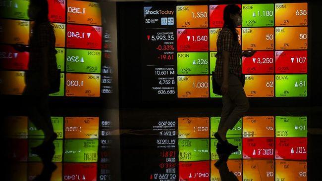 IHSG menguat 26,5 poin atau 0,44 persen ke posisi 6.096 pada akhir perdagangan Senin (2/8) sore.