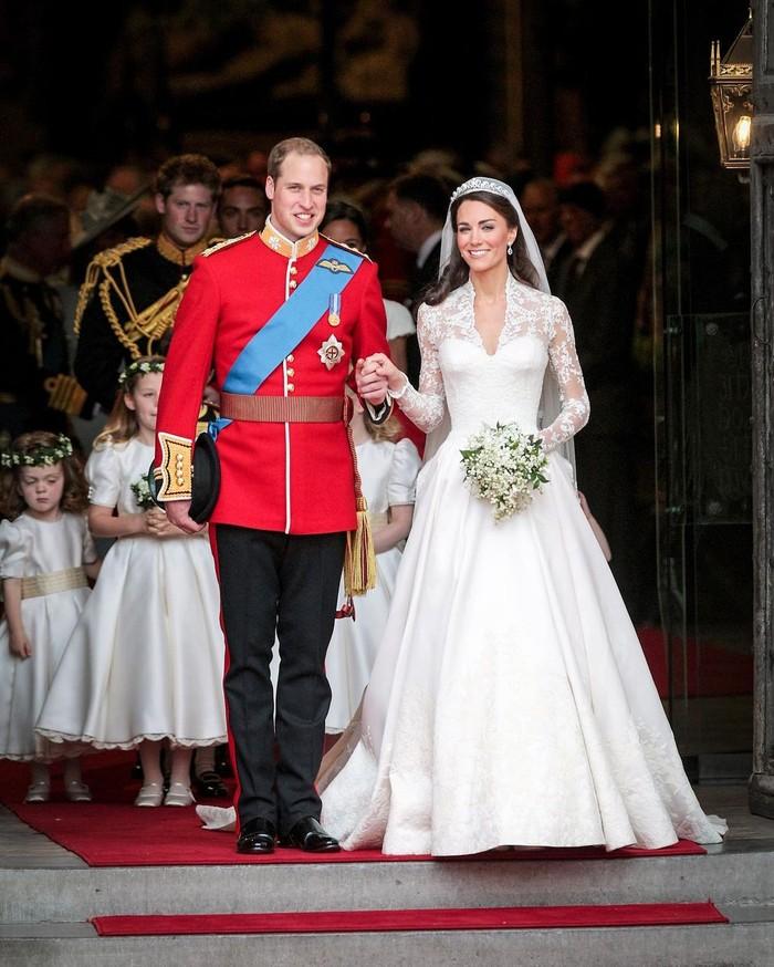 Keduanya menikah pada tanggal 29 April 2011. (foto: instagram.com/kensingtonroyal)