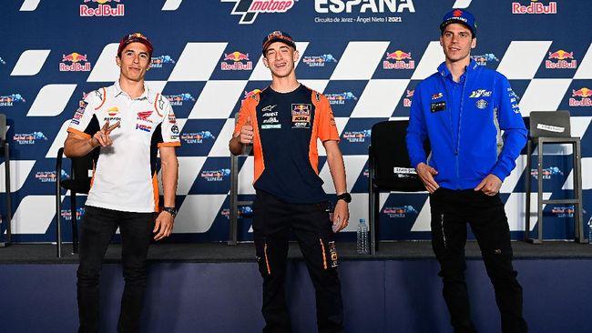 Joan Mir mengatakan hasil di MotoGP Spanyol 2021 membuktikan Marc Marquez hanya manusia biasa setelah finis di posisi sembilan.