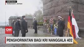 VIDEO: Penghormatan Bagi KRI Nanggala 402