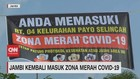 VIDEO: Jambi Kembali Masuk Zona Merah Covid-19