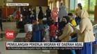 VIDEO: Pemulangan Pekerja Migran Ke Daerah Asal