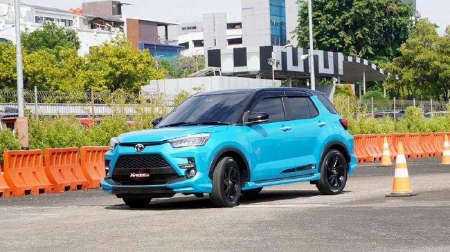Toyota Raize 1.000 cc untuk konsumen di Indonesia hadir dalam enam pilihan.