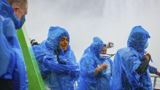 Kapal Baru Ajak Turis Lebih Dekat dengan Air Terjun Niagara