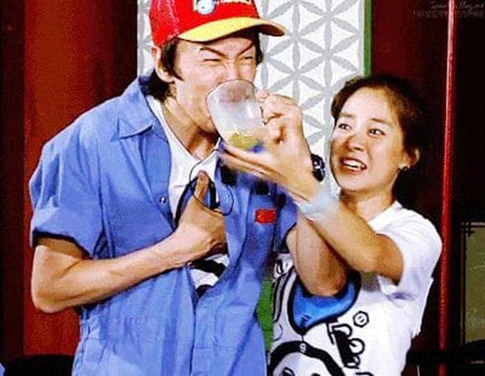 Seperti teman pada umumnya, Kwang Soo dan Jihyo juga seringkali bertengkar saat menyelesaikan misi. Moment ribut mereka bahkan menjadi yang paling ditunggu oleh penggemar di setiap episode nya. (Foto: Pinterest.com/shandygillen)