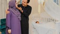 <p>Belum lama ini, Siti Nurhaliza dan suami, Datuk Khalid Mohammed Jiwa, mengadakan akikahanak keduanya. Acara berlangsung sederhana, Bunda. (Foto: Instagram @ctdk)</p>