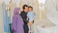 <p>Meski berlangsung sederhana, Siti mengatakan bahwa akikahsang putra begitu berarti untuknya dan keluarga besar. (Foto: Instagram @ctdk)</p>