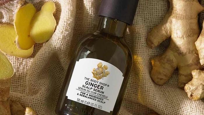 The Body Shop Ginger Scalp Serum, Solusi Rambut Rontok dan Kulit Kepala Gatal Akibat Ketombe