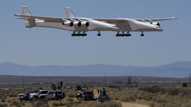 Uji coba ke-2 pesawat gandeng terbesar di dunia pada Kamis (29/4) merupakan bukti kemajuan teknologi industri penerbangan.