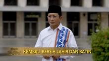 VIDEO: Kembali Bersih Lahir dan Batin