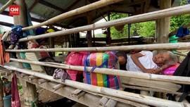 VIDEO: Warga Myanmar Mengungsi Hindari Bentrok Junta dan KNU