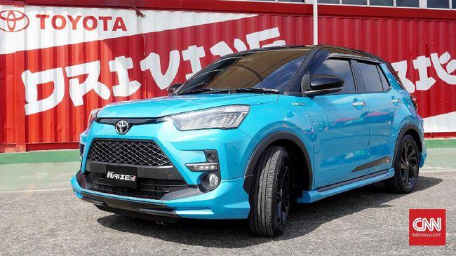 Raize jadi amunisi baru Toyota bakal menggempur pasar mobil pada segmen Sport Utility Vehicle (SUV) ringkas lima penumpang.