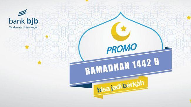 BJB menggelar beragam promo menarik menyambut Idul Fitri 1442 H, mulai dari Bisa Jadi Berkah THR, Bonus Sahur Ramadan, BJB Bukber, sampai Berkah Free Parcel.