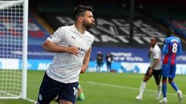 Hasil Liga Inggris: Man City Kalahkan Crystal Palace 2-0
