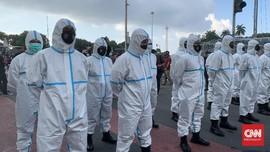 May Day Abai Prokes, Polisi Kerahkan Personel Pakai APD