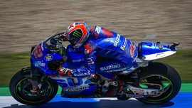Kecelakaan Sepeda, Alex Rins Absen di MotoGP Catalunya