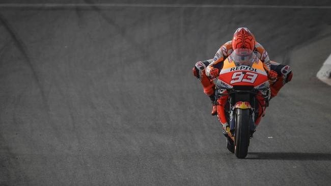 Hasil FP3 MotoGP Prancis: Marquez Tercepat, Rossi Ke-20