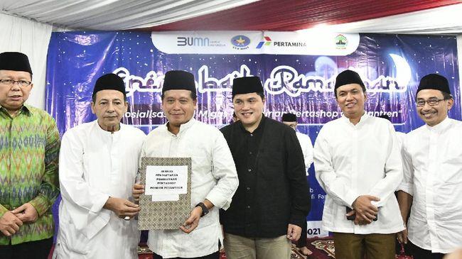 BPH Migas, Kementerian BUMN, PT Pertamina dan BSI menyosialisasikan pendirian Pertashop di hadapan 50 pimpinan pondok pesantren se-Jawa Tengah, Jumat (30/4).