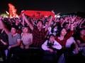 Ribuan Orang Hadiri Konser Festival Musik di Wuhan