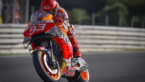 MotoGP Prancis: Marquez Terjatuh di FP4