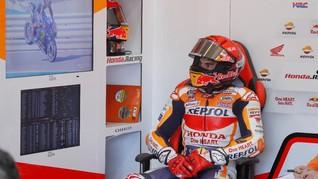 Alasan Marquez Marah Usai Kecelakaan di FP2 MotoGP Aragon