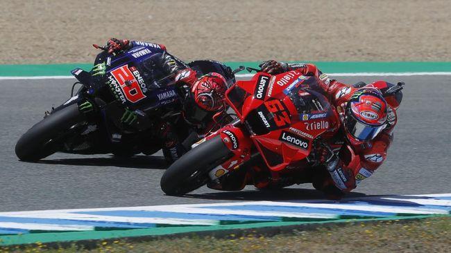 Saksikan live streaming MotoGP Prancis 2021 dari Sirkuit Le Mans di CNNIndonesia.com pada Minggu (16/5) malam.
