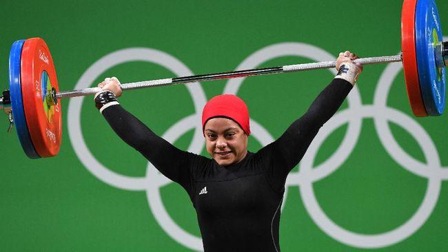 Sara Ahmed adalah lifter Mesir yang menjadi wanita Arab pertama yang meraih medali Olimpiade di cabang olahraga angkat besi.