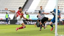 Hasil Liga Inggris: Arsenal Menang 2-0 Atas Newcastle