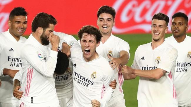 3 Tanda Madrid Juara La Liga Spanyol