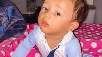 <p>Baby Saka kini berusia 7 bulan. Semakin bertambah usianya, Saka semakin tampan seperti sang ayah. (Foto: Instagram @ussypratama)</p>