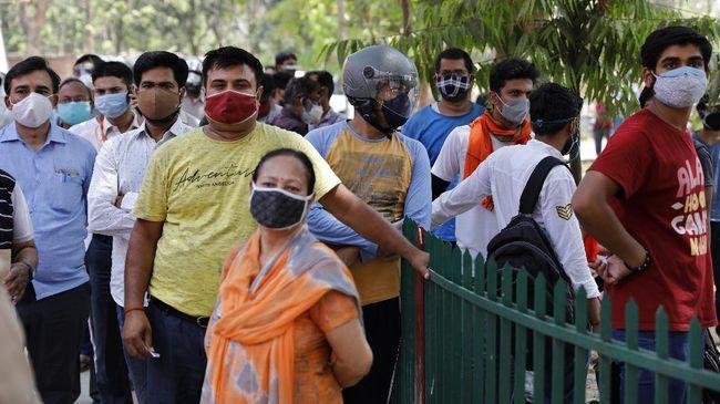 Sejumlah negara bagian di India berencana melonggarkan lockdown setelah tren penularan virus corona dianggap terus turun.