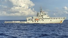 Dibantu Militer China, TNI AL Angkat Liferaft KRI Nanggala