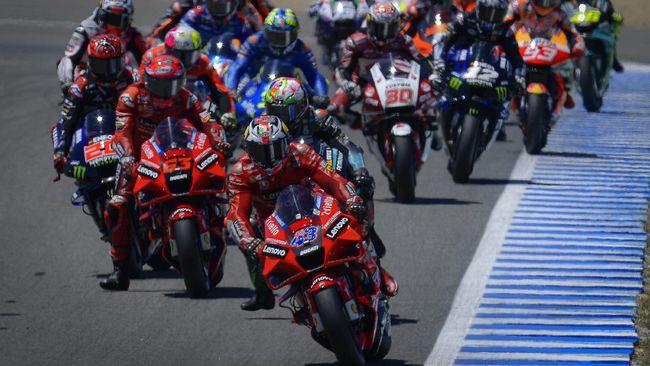 MotoGP Prancis 2021 di Sirkuit Le Mans akan berlangsung akhir pekan ini, Minggu (16/4). Berikut jadwal MotoGP Prancis 2021.
