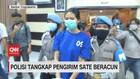 VIDEO: Polisi Tangkap Pengirim Sate Beracun
