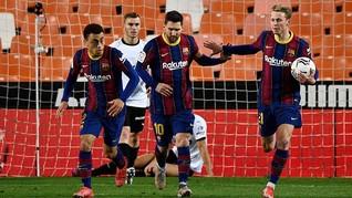 Pesta di Rumah Lionel Messi, Barcelona Sesumbar Juara La Liga