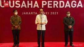 VIDEO: Jokowi Tinjau Vaksinasi 2 Pusat Perbelanjaan Jakarta
