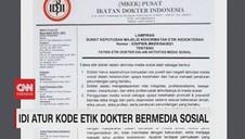 VIDEO: IDI Atur Kode Etik Dokter Bermedia Sosial